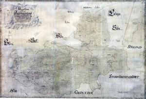 Шведская карта 1704 года